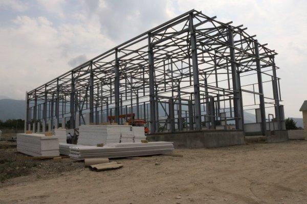 Xaçmaz  rayonu, Qaraçayçək kəndi ərazisində  toxum fabriki, Taxıl təmizləmə bloku